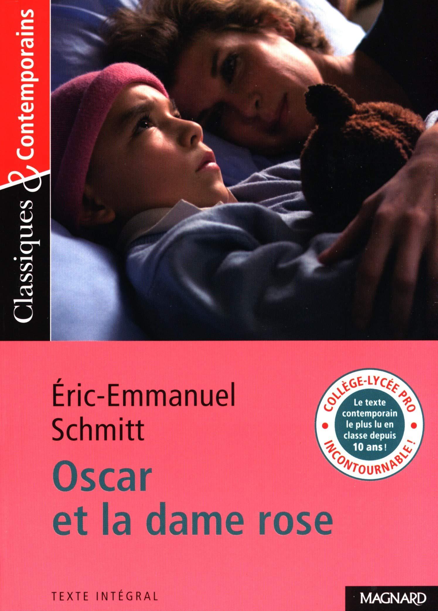 Oscar Et La Dame Rose French Edition Classiques Contemporains Eric Emmanuel Schmitt 9782210754904 Amazon Com Books