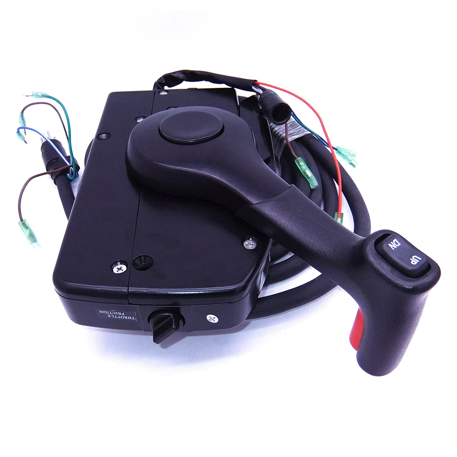 Amazon.com : 881170A15 Boat Motor Side Mount Remote Control Box with 8 Pin  for Mercury Outboard Engine PT, Left Side : Sports & Outdoors