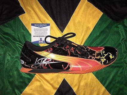Usain Bolt Signed Official Street Yaam