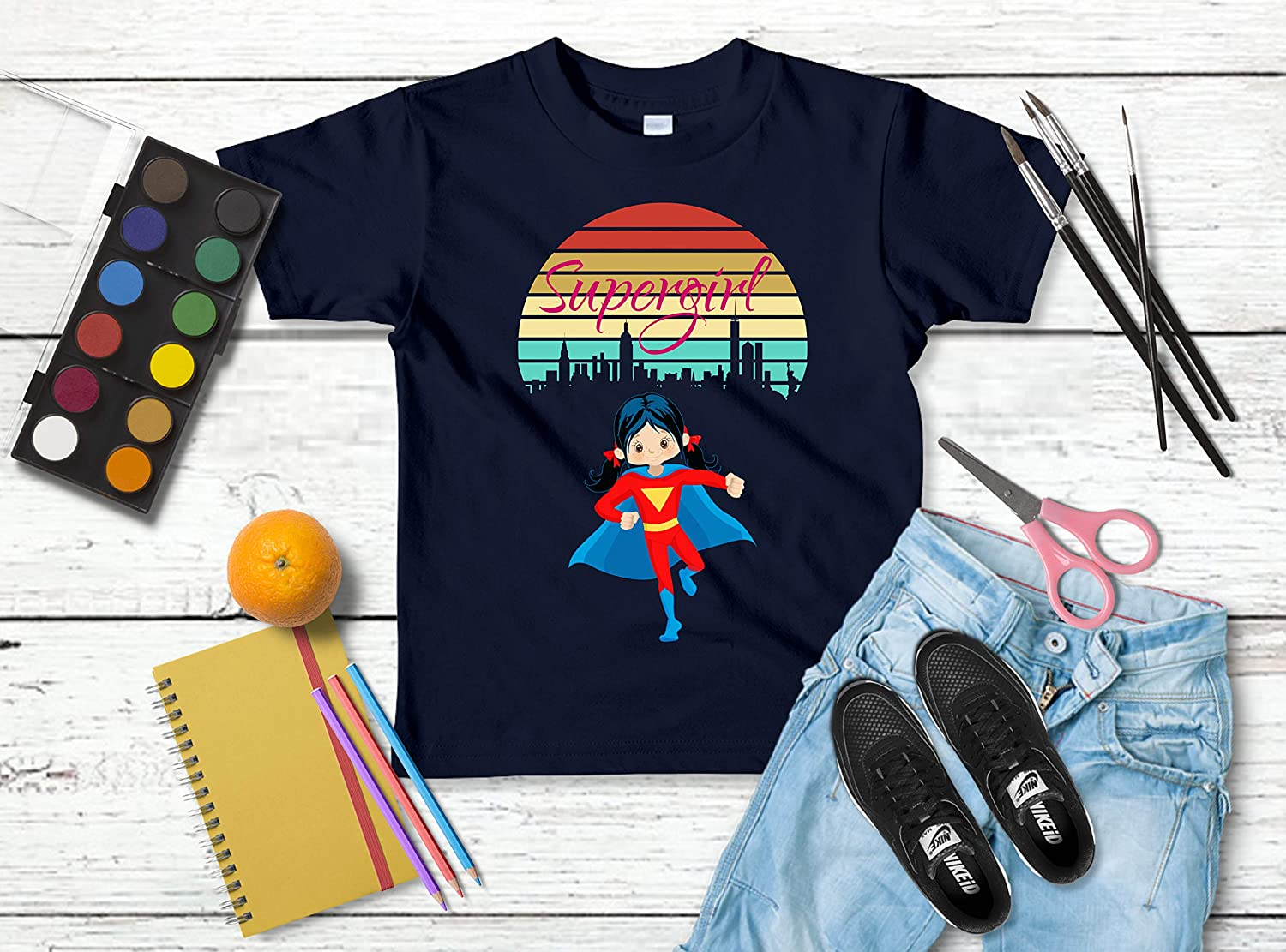 Anything Boys Can Do GIRLS CAN DO BETTER Supergirl T-Shirt All Sizes