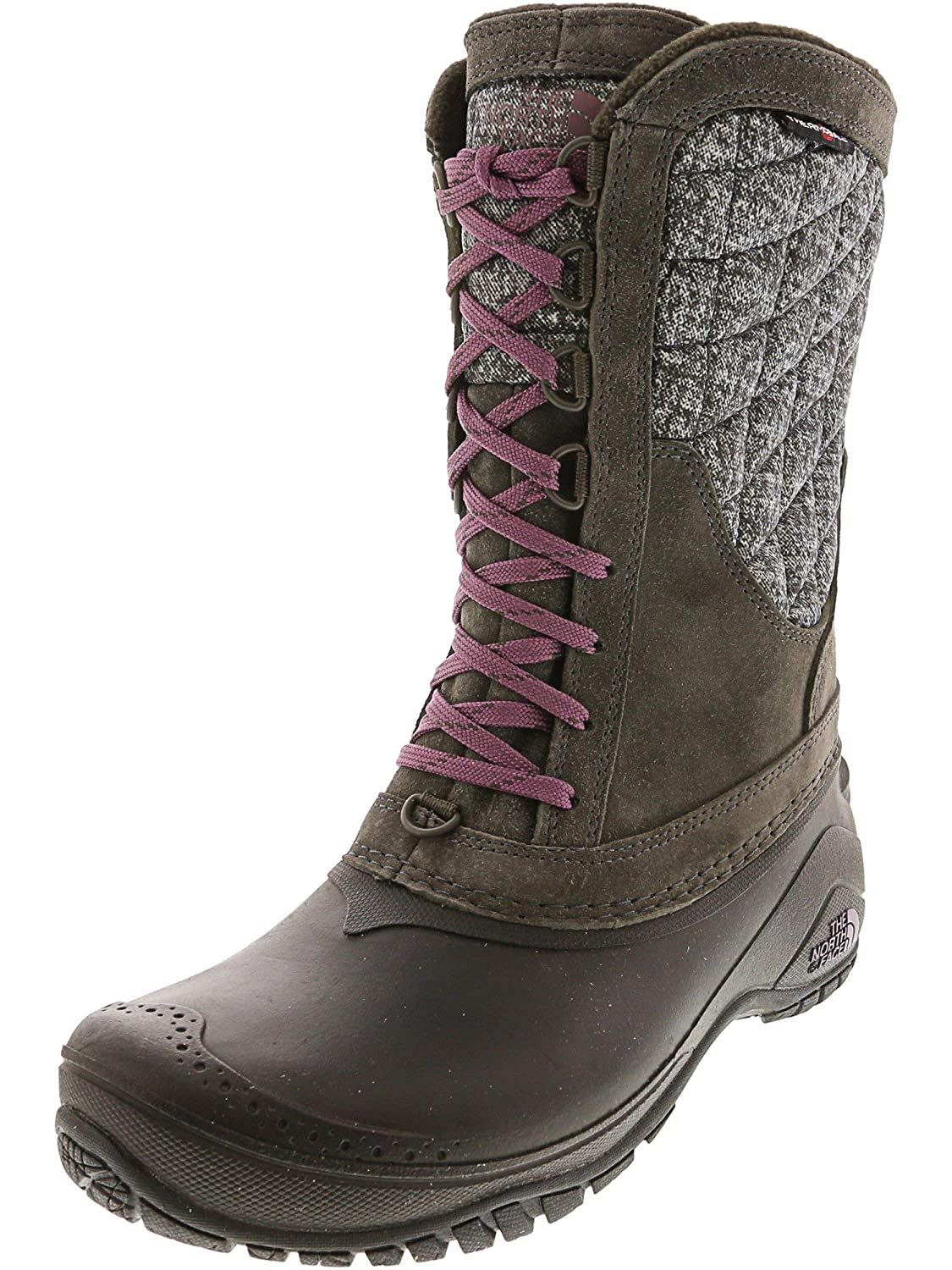 Noir The North Face W Thermoball Utility Bottes de Prougeection pour Femme