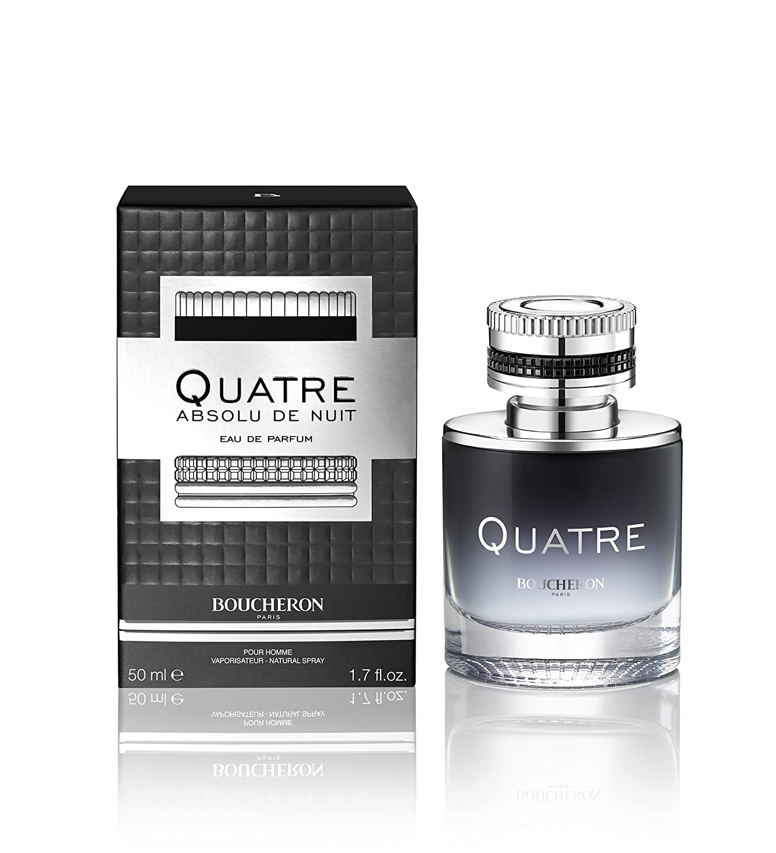 Boucheron Quatre Absolu de Nuit Eau de Parfum pour Homme 50 ml 2526275