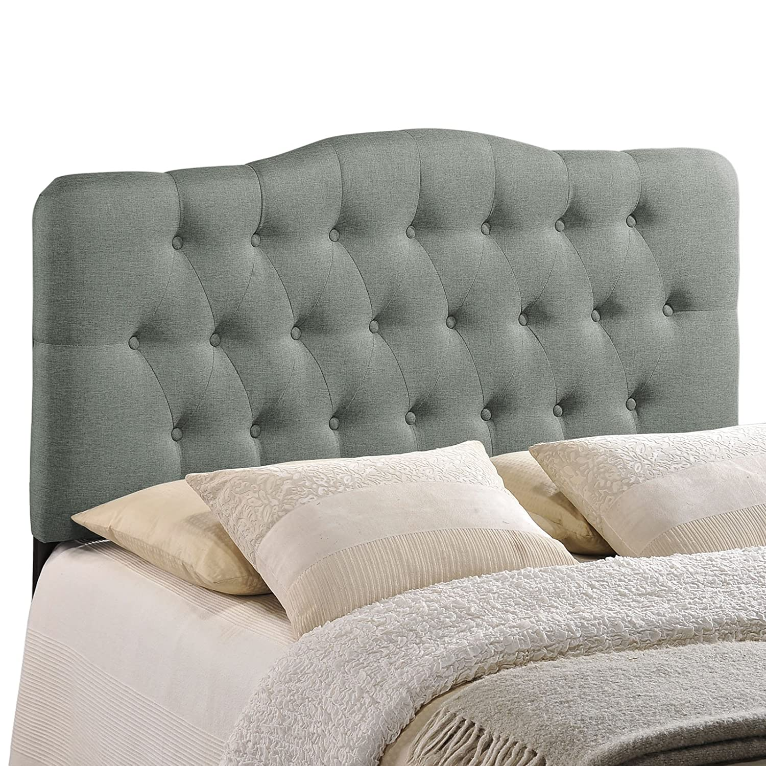 single large button headboards upholstered canada queen padded size headboard emily cheap nz kit fabric dimensions of king studded amazon only tufted modway