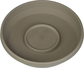 """product image for Bloem Terra Plant Saucer Tray 8"""" Peppercorn, STT0860"""