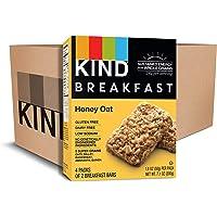 KIND 16 Count 1.8oz Honey Oat Gluten Free Non GMO Breakfast Bars