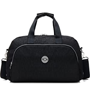 9e9d468943 AOKE Water Resistant Travel Totes Duffel Luggage Bag Overnight Weekend Bag  Nylon Fabric Stand Bag Spots ...