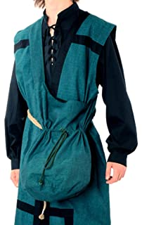 Marron Vêtements Médiéval Pur Sac En Coton AX6wAIq