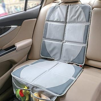 Elefox Full Cover Car Seat Protector Mat Grey