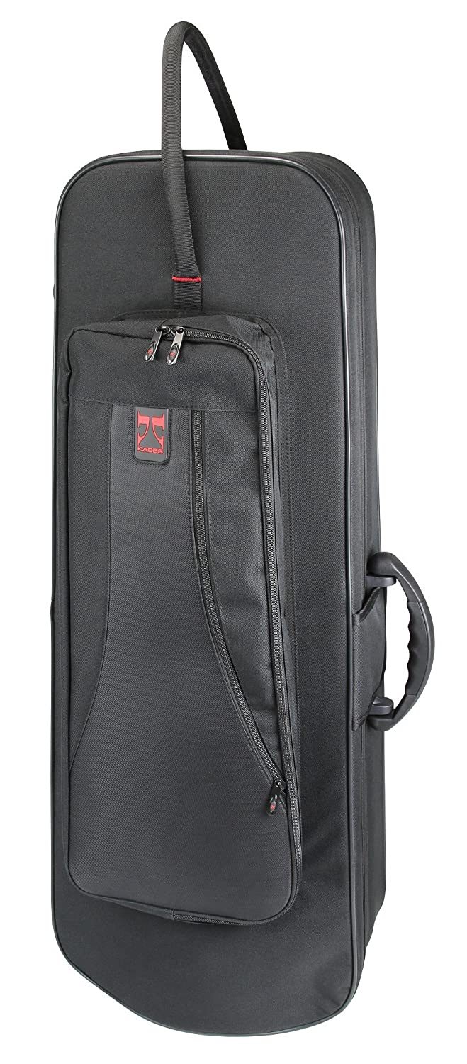 Kaces KBF-TMF2 Lightweight Hard-shell F Att Trombone Case, Black