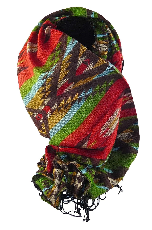 Schal Loop Poncho Mexikanischer Look