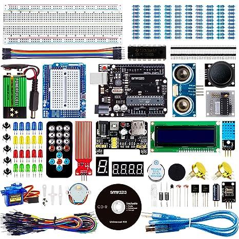 Smraza UNO Project Super Starter Kit for Arduino UNO R3 Mega2560 Nano with  Tutorial