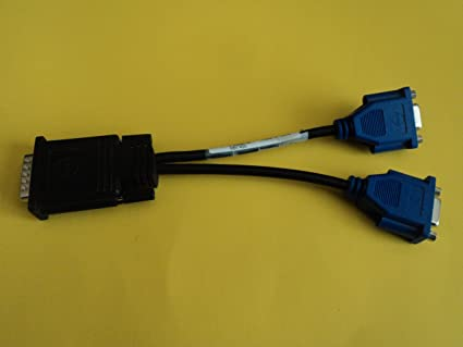 Dell DMS-59 to DVI-I Dual Link Splitter Y Adapter Cable NEW CN-0H9361-52204