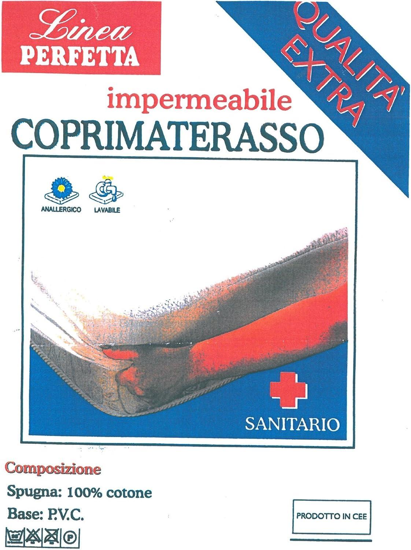 Euroricami Viterbo Coprimaterasso con cerata 1 piazza singolo con angoli traversa QUALITA EXTRA