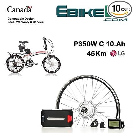 Electric folding bike Conversion KIT for Dahon Tern Brompton foldable Bicycle 350/500W E Bike