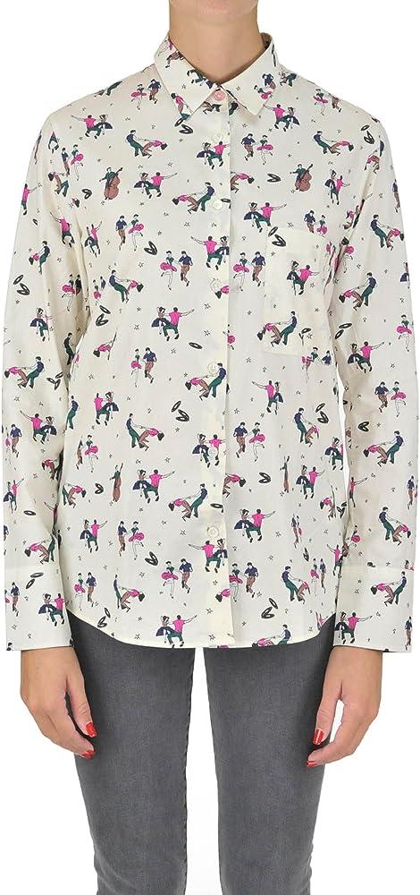 Paul Smith - Camisas - para Mujer Weiß Talla de la Marca 42: Amazon.es: Ropa y accesorios