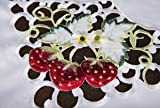 Xia Home Fashions Strawberry Embroidered Collection