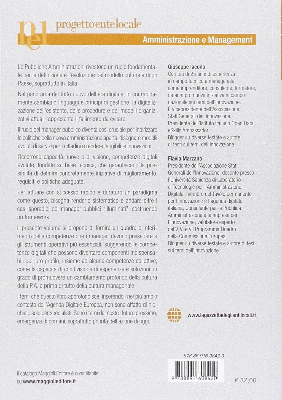 Le competenze digitali del manager pubblico. Una guida ...