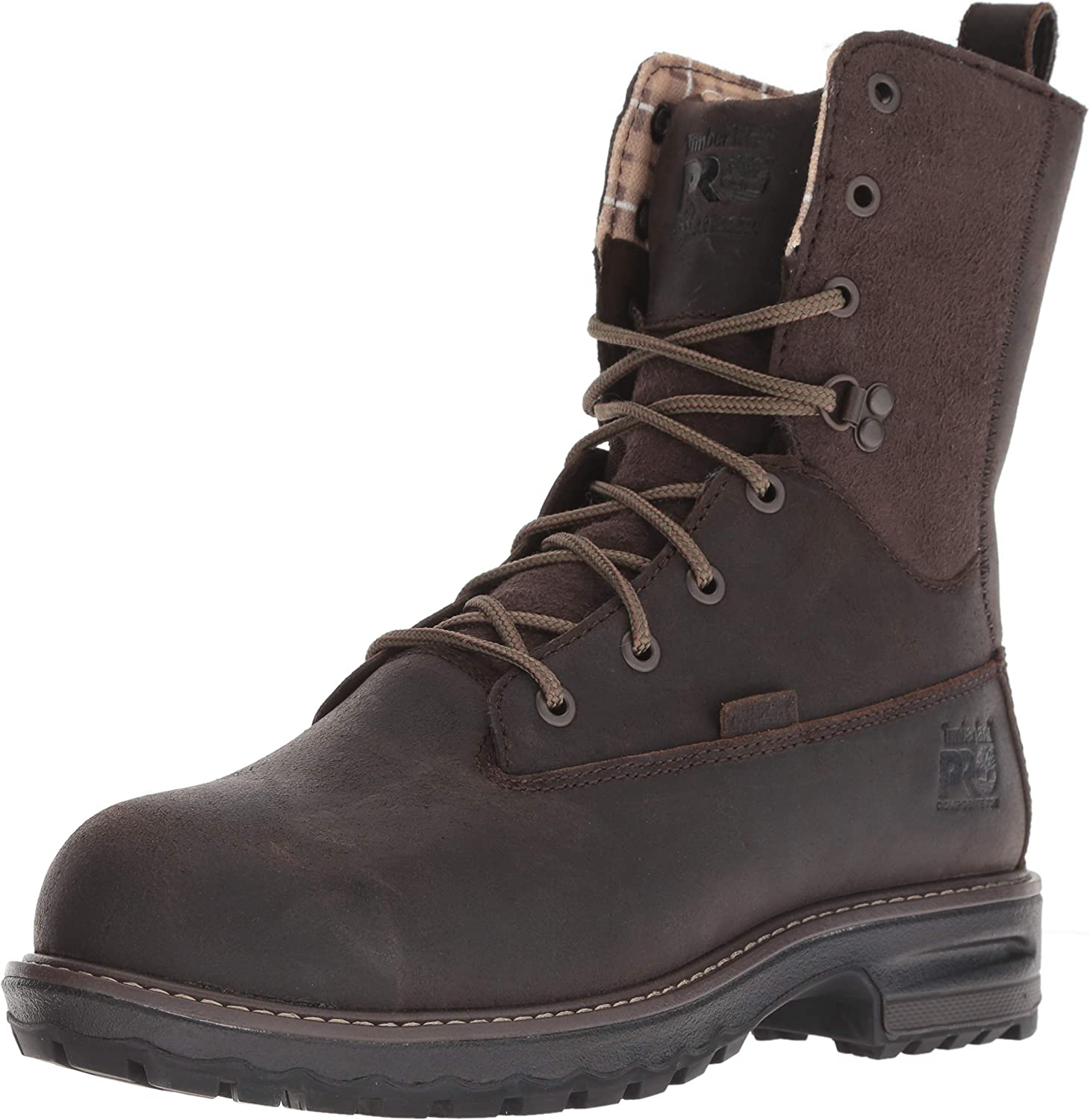 "Timberland PRO Women's Hightower 8"" Composite Toe Waterproof Insulated Industrial Boot"