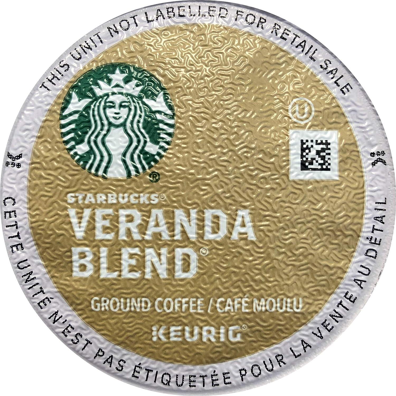 Starbucks Veranda Blend Single Cup Coffee for Keurig Brewers, 32 Count