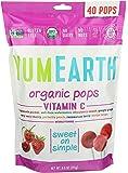 YumEarth, Organic Vitamin C Lollipops 40 lollipops per Pack, 8.5 oz