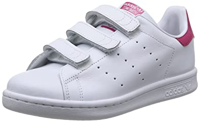 lowest price cb2f0 9fb64 adidas Originals Stan Smith CF C - Scarpe per bambini, unisex, multicolore  (Ftwr