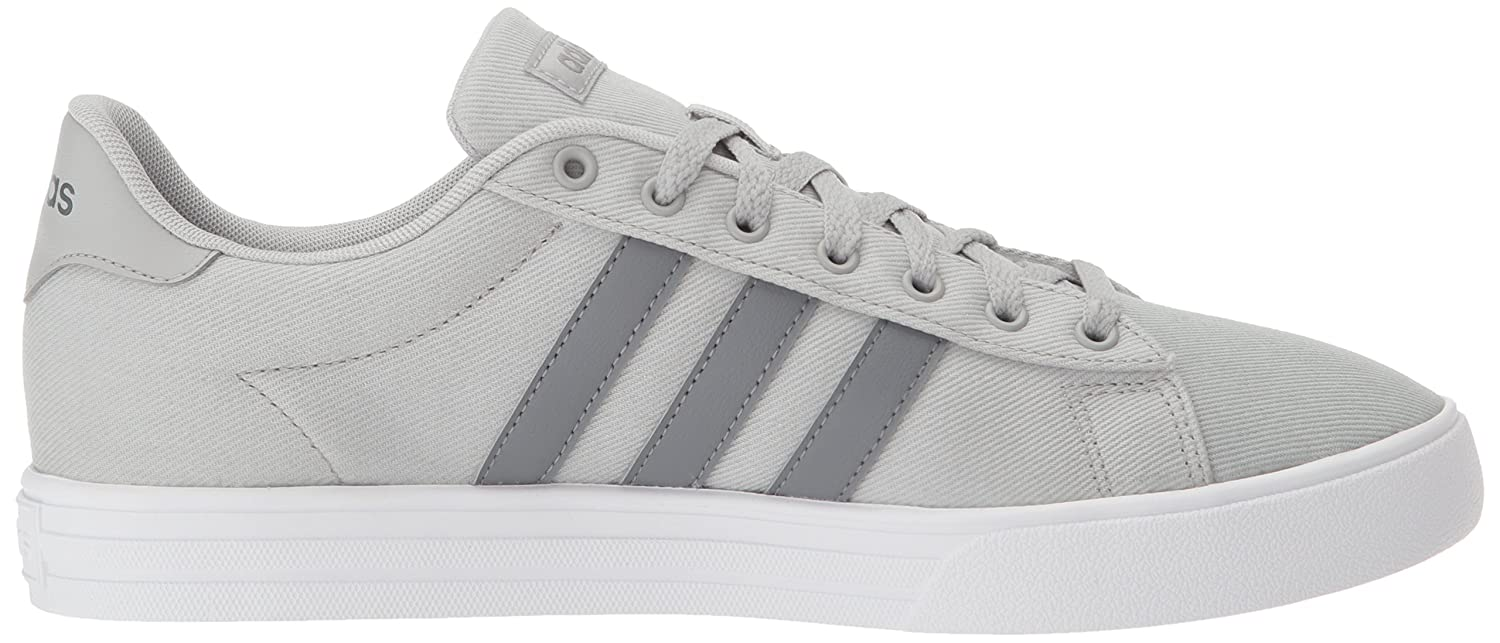 Adidas Men's size 9 12 Daily 2.0 Ankle High Canvas Skateboarding Shoes Gray