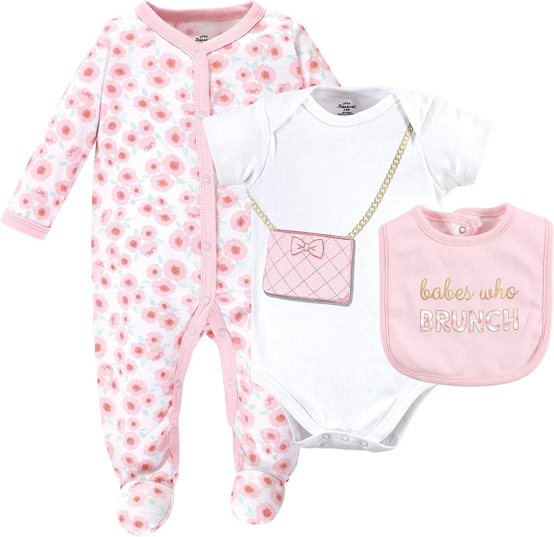Little Treasure Baby Multi Piece Clothing Set