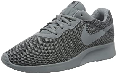 Nike Mens Tanjun SE Shoe Cool Grey/Cool Grey-Black 8