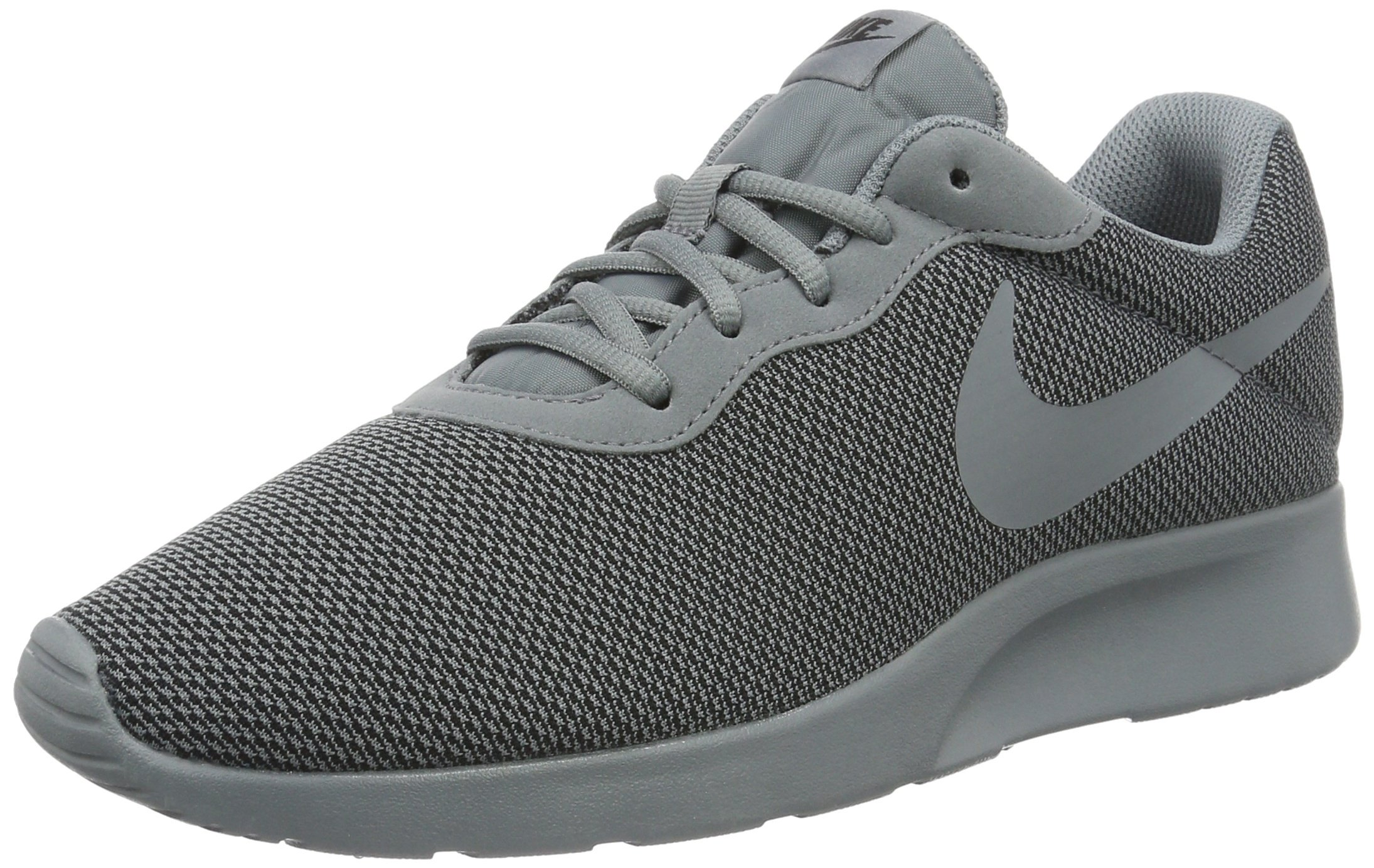 NIKE Mens Tanjun SE Cool Grey/Cool Grey-Black Size 9.5