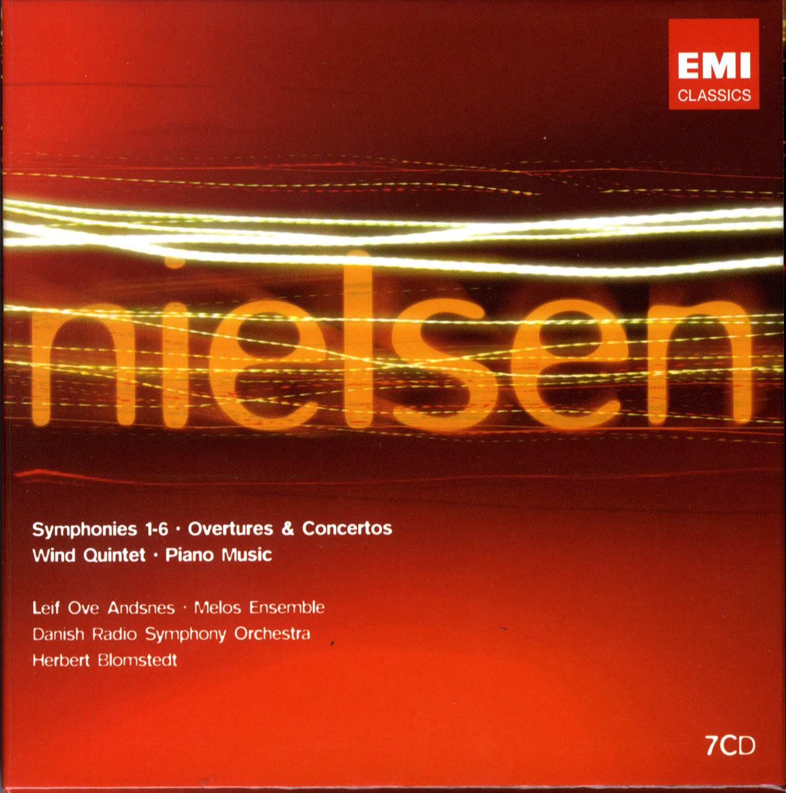 Nielsen: Symphonies 1-6; Overtures; Concertos; Wind Quintet; Piano Music by Lille