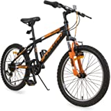 Spartan 20 inch Panther MTB Bicycle - Matte Black
