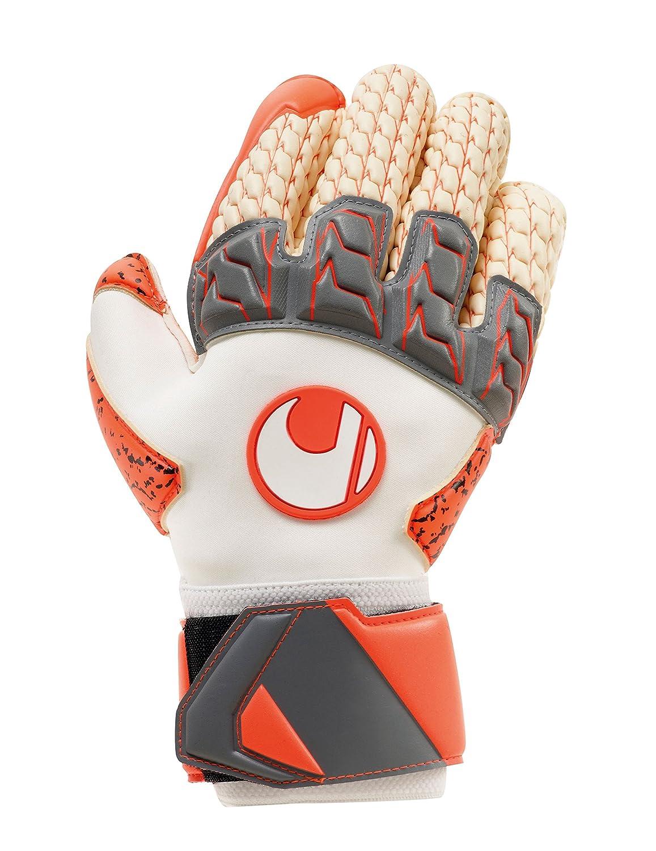 UHLSPORT AERORED LLORIS SUPERGRIP Goalkeeper Gloves Size