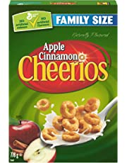 Cheerios Apple Cinnamon Naturally Flavoured Cereal Family Size, 778g