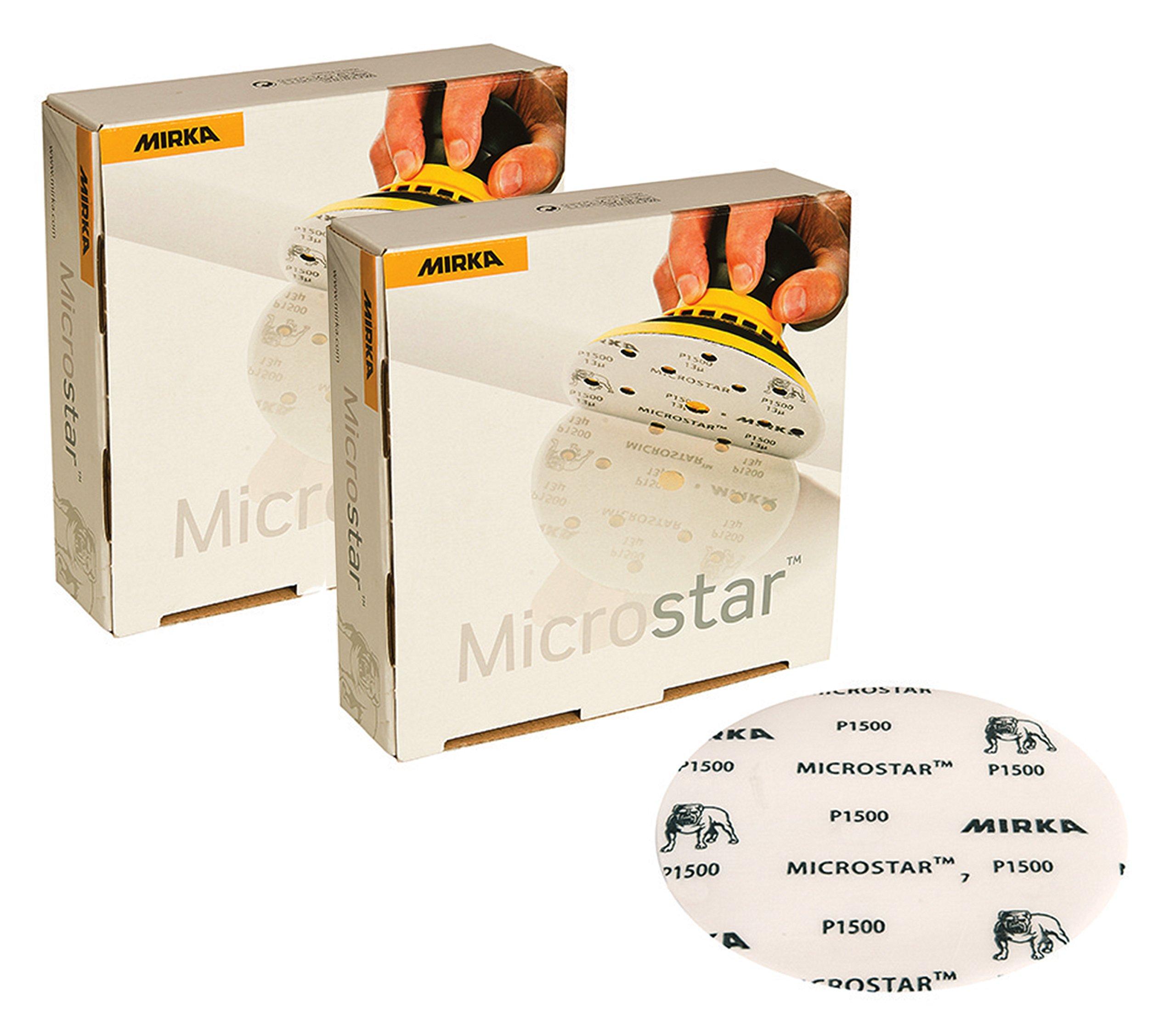 Mirka FM-612-1000 Microstar Film Backed Grip Disc, 5''