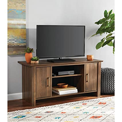 EHOME SUPERSTORE LLC TV Stand For Flat Screen TVs Up To 47u0026quot;, Multiple  Finishes