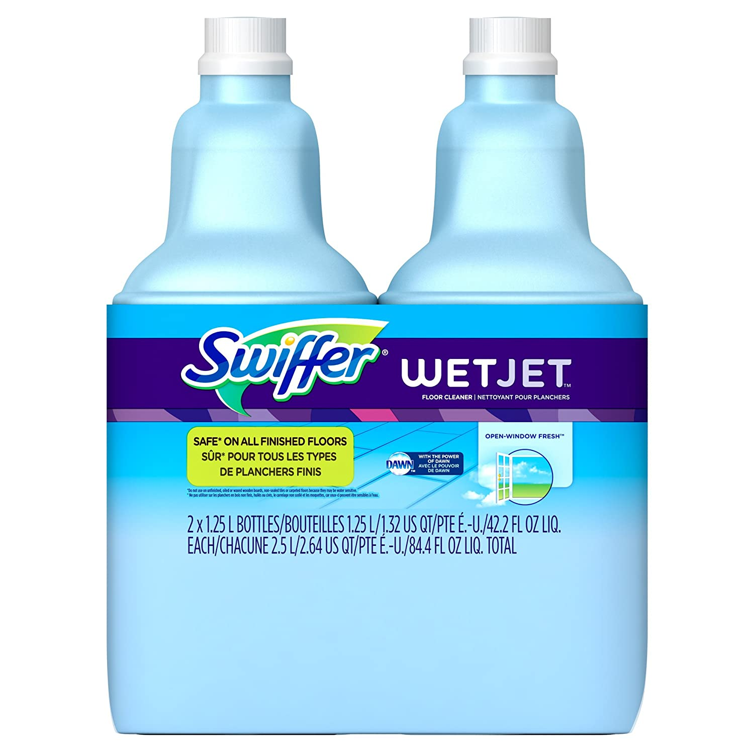 Swiffer WetJet Multi-Purpose Floor and Hardwood Cleaner Solution Refill