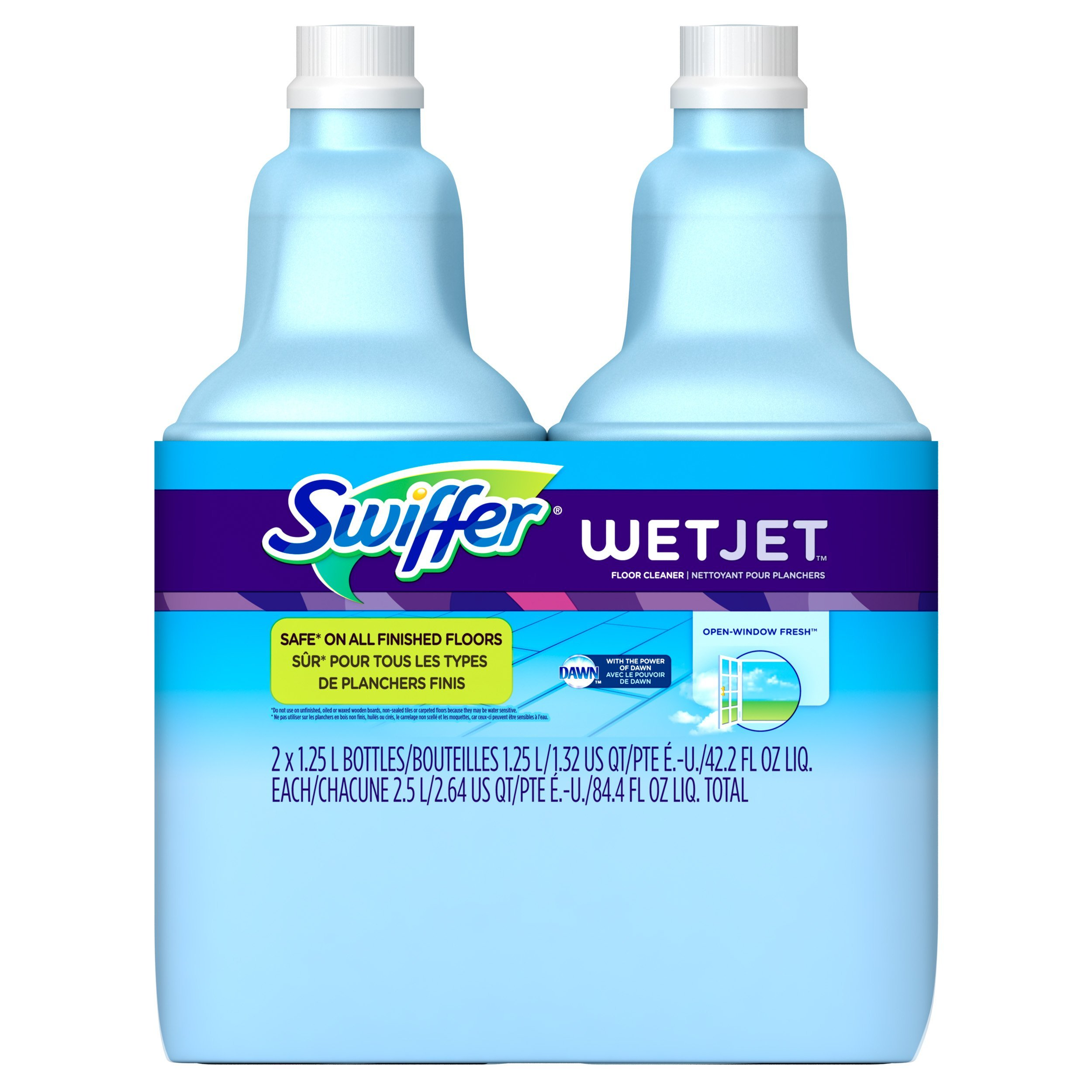 Amazon.com: Swiffer WetJet Spray, Mop Floor Cleaner Starter Kit: Health & Personal Care