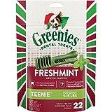 GREENIES Holiday Freshmint Dental Chews Treats for Dogs - 6 oz