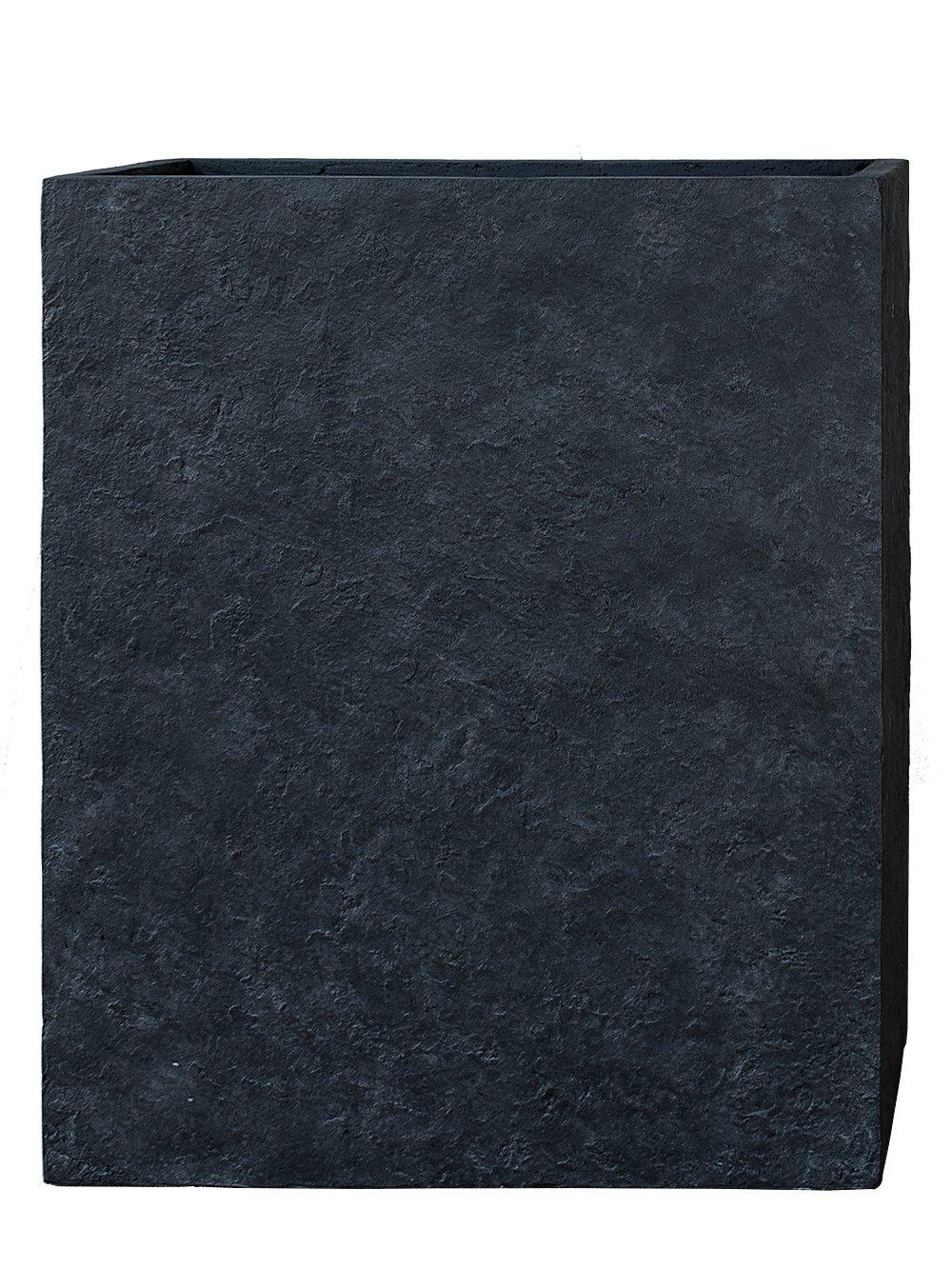 PFLANZWERK® Pflanzkübel DIVIDER Lava Anthrazit 92x80x30cm *Frostbeständig* *UV-Schutz* *Qualitätsware*