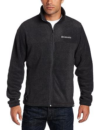Columbia Men's Steens Mountain Front-Zip Fleece Jacket at Amazon ...