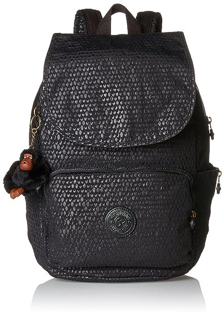 Kipling Cayenne, Women s Backpack, Schwarz (Black Scarlet Emb), 27x37x19.5 02882ef4e3