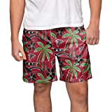 2a8d850afe Amazon.com : NFL Mens Team Logo Floral Hawaiin Swim Suit Trunks ...