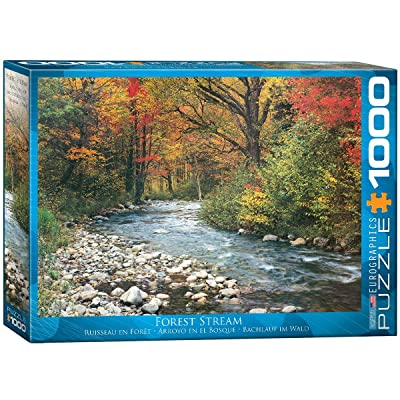 Eurographics Forest Stream 1000-Piece Puzzle: Toys & Games