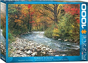 Eurographics Forest Stream 1000-Piece Puzzle