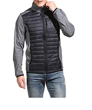 d1f949603 Eono Essentials Men's DuPont Sirona Eco Padded Hybrid Jacket