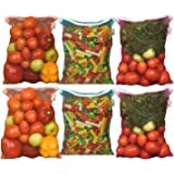 Earthy Fab Vegetable Storage Fridge Bags Eco-Friendly, Non-Toxic, Washable, Reusable, 27X33 cm, Pack of 6.