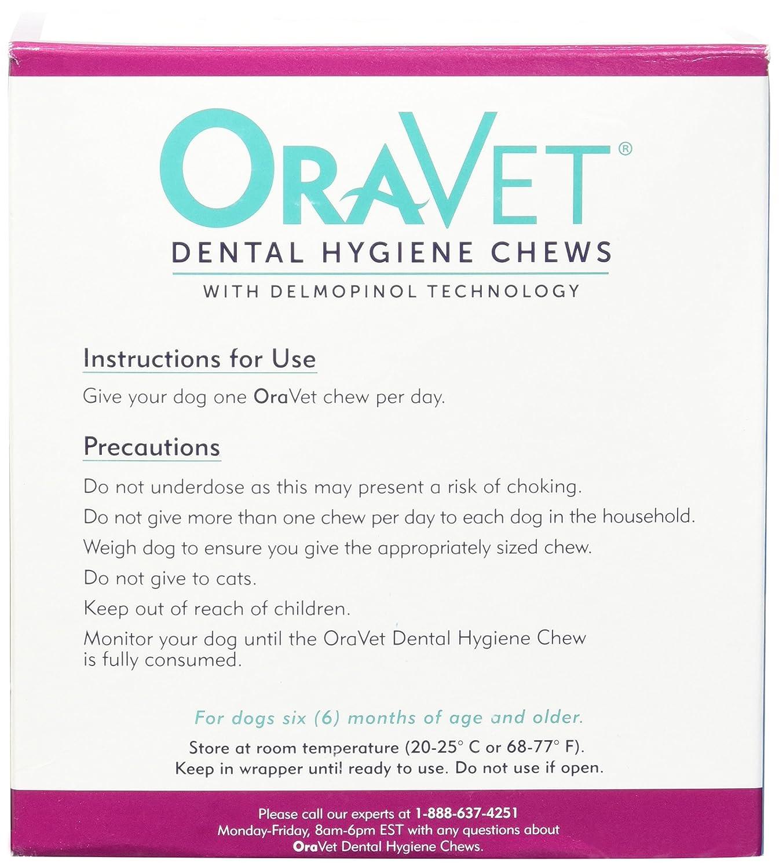 Amazon Merial 14 Count Oravet Dental Hygiene Chew for