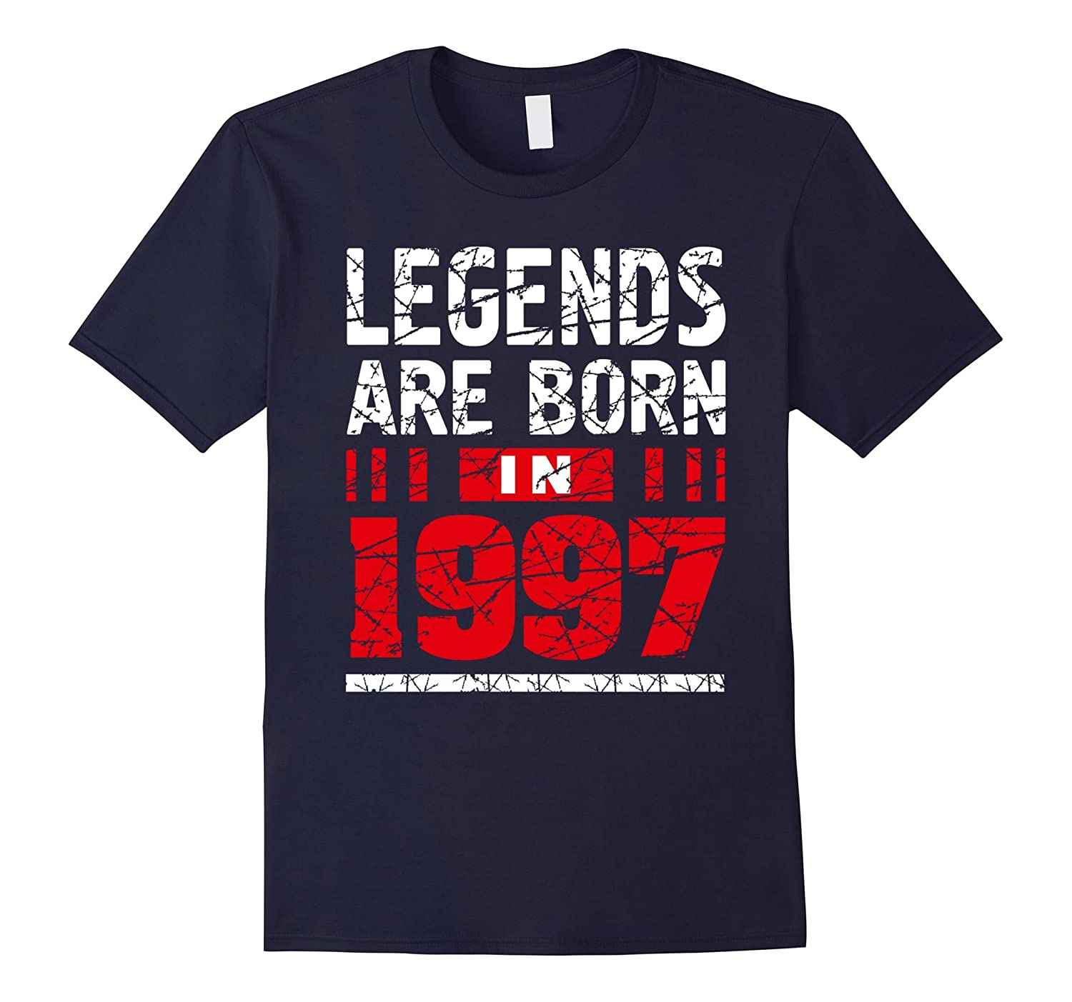 20th Year Old Boy Shirt Gift Legends Are born in 1997 Tee-CD