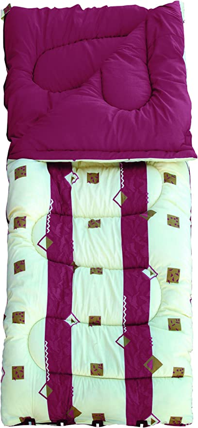 Royal Umbria Burgundy 50oz King Size Sleeping Bag