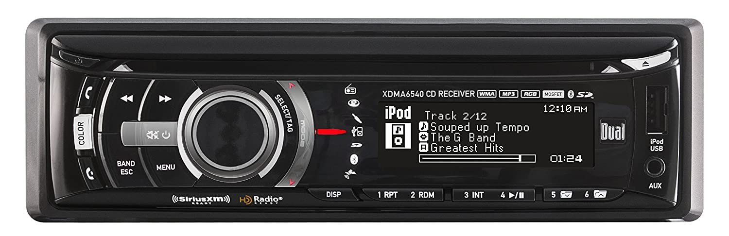 Amazon dual electronics xdma6540 multimedia full graphic lcd amazon dual electronics xdma6540 multimedia full graphic lcd single din car stereo with built in bluetooth cd usb mp3 player car electronics asfbconference2016 Images